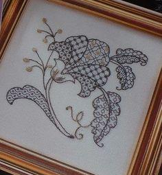 Blackwork Embroidery - Wikipedia, the free encyclopedia