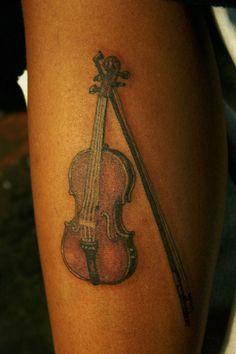 Violin Tattoo Designs | Tattoo Violin