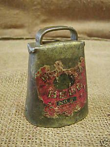 antique sheep/cow bell