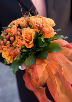 bridal bouquets, fall bouquets, wedding bouquets, orange weddings, wedding flowers, bouquet wedding, orange flowers, bridal flowers, floral arrangements