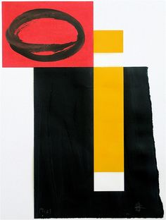 untitled    2008  oil on paper  www.martingyger.ch