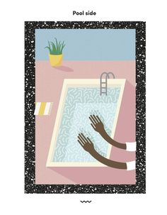 Pool Side - Rachel Peck