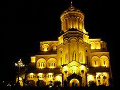 Sameba Cathedral, Georgia, Tbilisi.