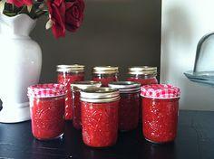 Enjoy homemade strawberry freezer jam in minutes!