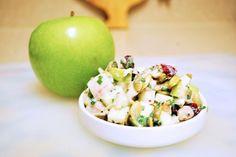 Green Apple & Chive Chicken Salad