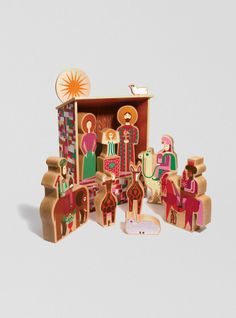 Couverture and The Garbstore - Homeware - Homeware - Alexander Girard Inspired Nativity Set