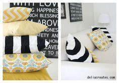 delia creates: Easy Envelope Pillow Case
