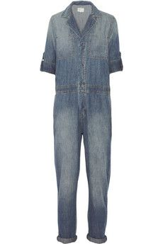 Current/Elliott The Mechanic denim jumpsuit | NET-A-PORTER