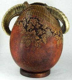 galleries, artists, gourd art, mountains, horns, gourds, judi richi, sculptur, pencils