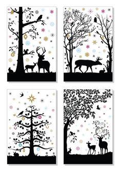Scherenschnitte paper cutting on pinterest paper - Weihnachtsfenster vorlagen gratis ...