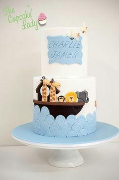 Noah's Ark cake (via The Cupcake Lady).