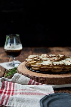 ... and Idaho Potatoes- Potato Galette with Caraway Brown Butter