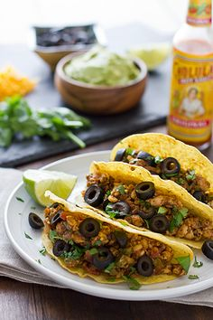 Vegan Tempeh Tacos from the cookbook Betty Goes Vegan