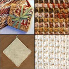 Tunisian Afghan Stitch Slideshow #crochet #tutorials