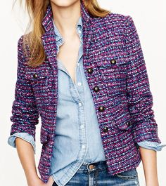 J. Crew, $268. Shop: http://www.styleite.com/retail/tweed-jackets-shopping-guide/#
