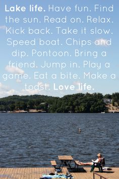 """Who's ready for some """"Lake Life"""" at the Lake of the Ozarks this summer!? Photo taken by @- Lake of the Ozarks, MO"""