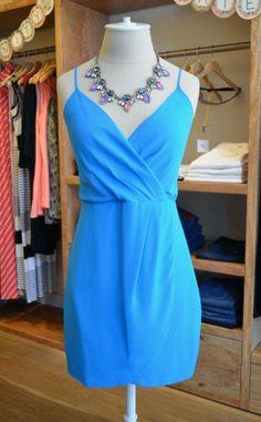 Lavender Brown - Silk Wrap Dress   Chloe Rose