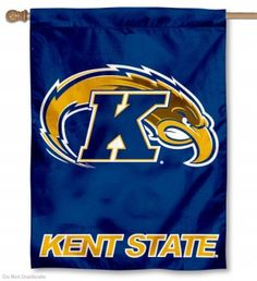 Kent State University Golden Flashes Polyester House Flag
