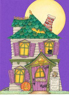 Halloween House by Mary Englebreit
