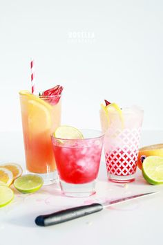 Summer drinks | Rosella cocktails