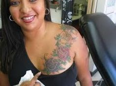 . body ink | tattoos picture breast tattoo