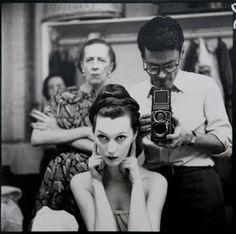 Diana Vreeland, Richard Avedon and Dovima - 1955