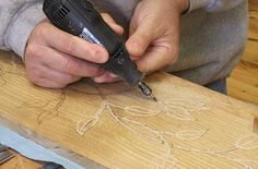 carving with a dremel