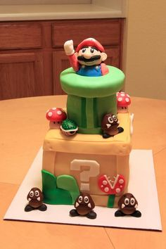 Super Mario 2 Cake
