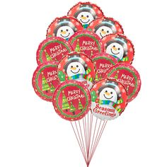 Christmas Love Balloons  Price:  US$49.99  Give a full-pack surprise on this Christmas with this 12 balloons, with 6 Christmas wishes and 6 Snowmen faces with season's greeting. Amazing bundle to bring it your own home or to give as surprise.