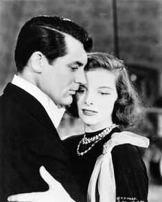 Still of Cary Grant and Katharine Hepburn in Holiday