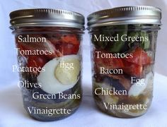 How to Make Mason Jar Meals: Part 2 | Big Red Kitchen - a regular gathering of distinguished guests