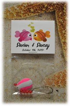 Fish Theme Wedding Favors
