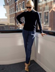 Zara's pyjama pants are a firm favourite in the ELLE office