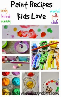 Paint Recipes Kids Love by FSPDT