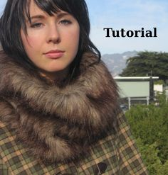DIY Fur Scarf