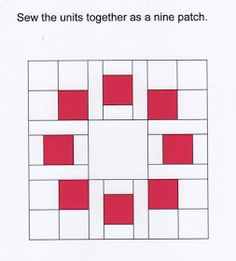Circle of Squares Block Information