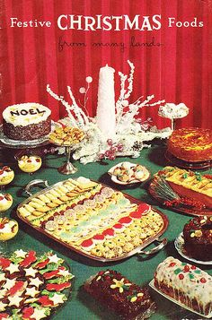 1950's Christmas party food