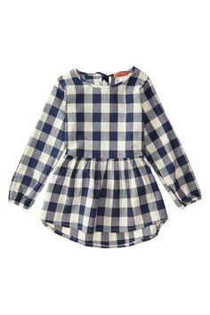 Plaid Tunic (Toddler & Little Girls)//