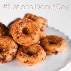 Chocolate Banana Donuts by Daphne Oz! #TheChew #NationalDonutDay