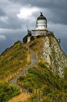 Nugget Point Light House , Otago, New Zealand
