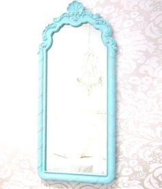 Shabby Chic Mirror For Sale FRENCH COUNTRY Home by RevivedVintage, $174.00