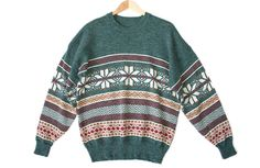 Southwestern Snowflake Tacky Ugly Christmas / Ski Sweater Men's Size 2XL (XXL) $25
