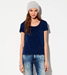 Pocket T-Shirt @a e.com #aeostyle