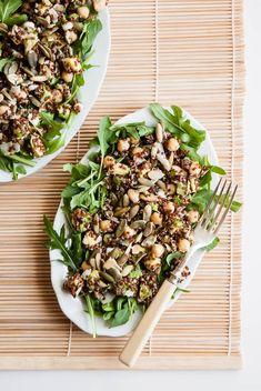 Quinoa Salad with Chickpeas and Avocado - Cafe Johnsonia quinoa salad, chickpea