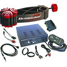 ButtKicker BK-GR2 Gamer Transducer Amplifier Kit