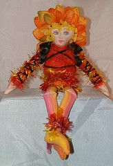 Free cloth doll pattern