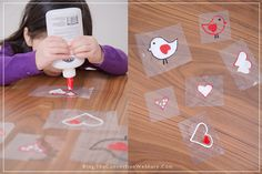 Sticky Valentines – How To Make DIY Window Clings » The Connection We Share