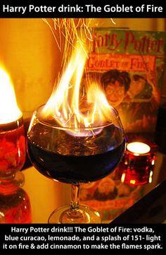 harri potter, cinnamon, theme drink, food, cocktail