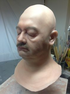 RFX Propmaking - Silicone Dummy Head rfxprops.com