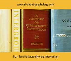 You'll find that Boring psychology is very interesting indeed! Click on image or GO HERE --> www.all-about-psychology.com for free psychology information & resources. #psychology  (Photo by Owen Massey McKnight via flickr creative commons)